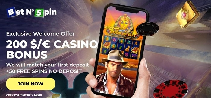 Exclusive Promotion: 50 free spins