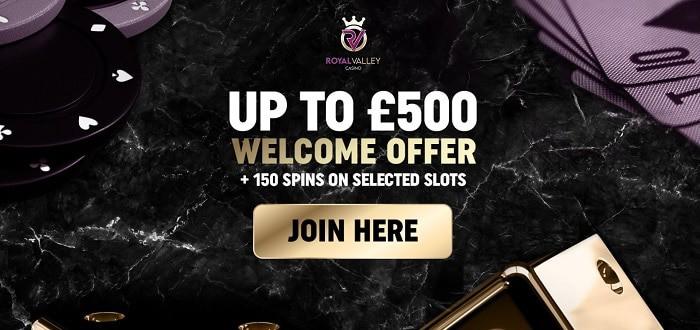 500 GBP welcome bonus
