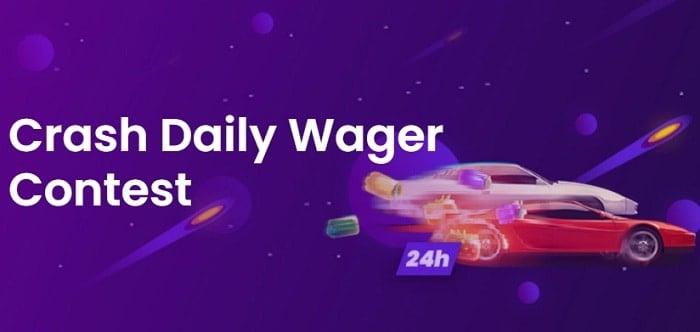 TrustDice Casino Daily Wager Contest