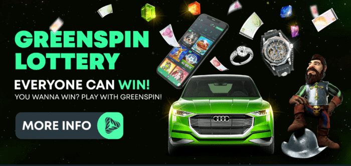 Greenspin lottery