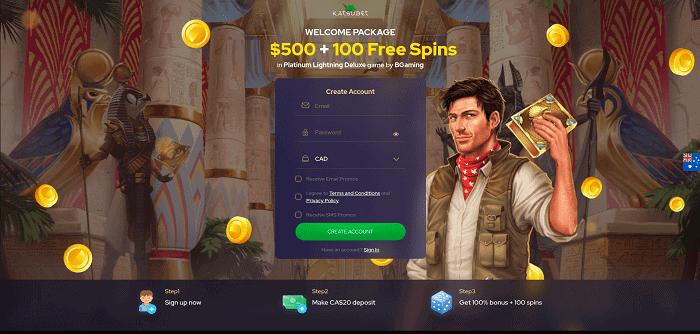 Katsu Casino Bonus