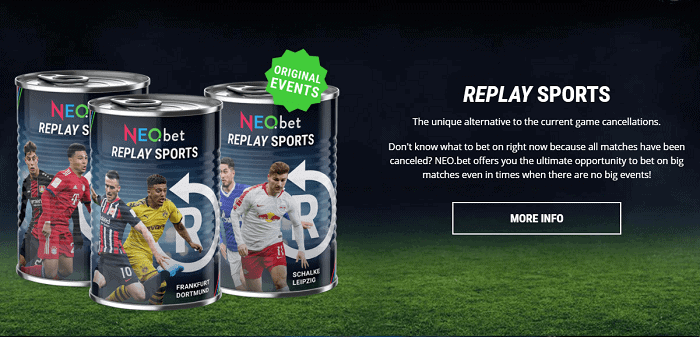 Replay Sports by Neo Bet