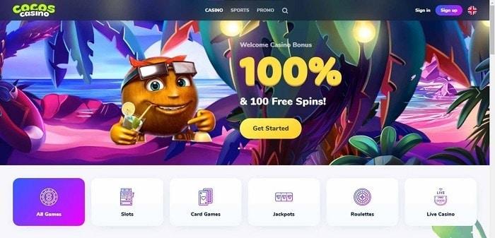 Cocos Free Spins Gratis