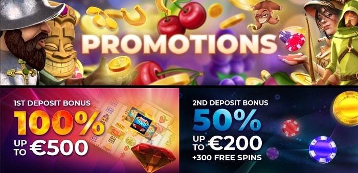 Max Casino Welcome Bonus