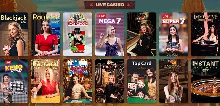 Play Live Dealer