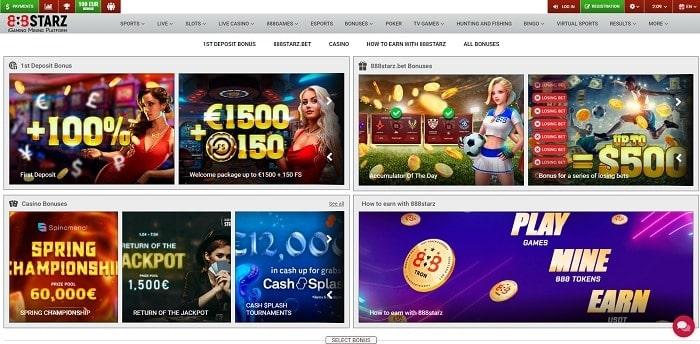 888stars free spins bonuses