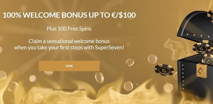Welcome Bonus (first deposit)