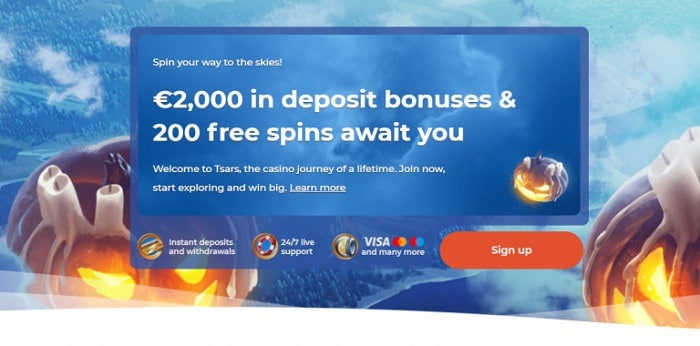 2000 eur bonus for new players
