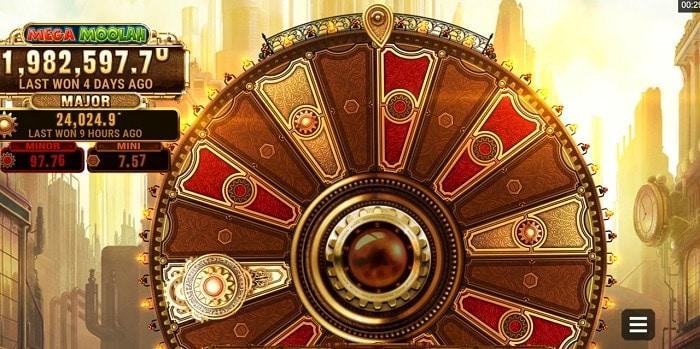 Fortunium Gold Mega Moolah Progressive Jackpots