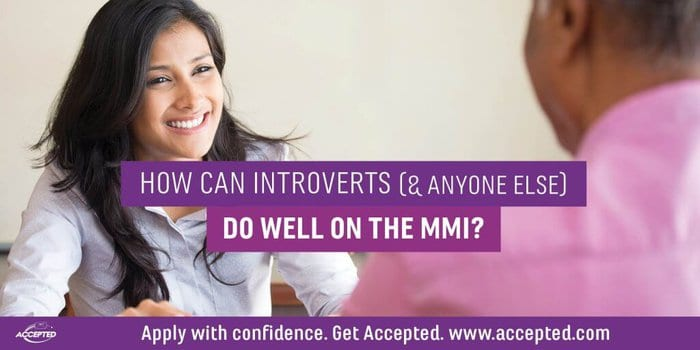 MMI Interview Tips for Introverts (& Anyone Else)