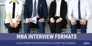 In-Person Interview With a Student or Alumnus