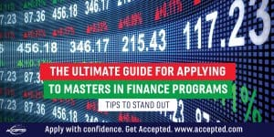 The ultimate guide for applying to MiF programs tips to stand out