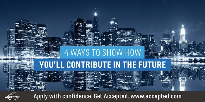 4 Ways to Show How You'll Contribute in the Future