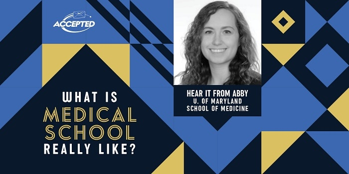 What is medical school really like? Hear it from Abby, University of Maryland School of Medicine student!