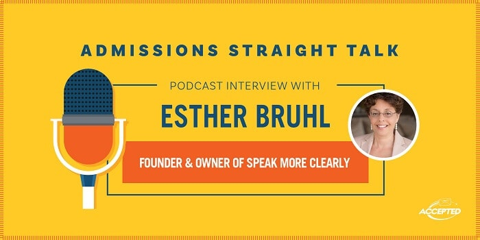 Podcast interview with Esther Bruhl