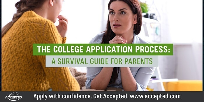 The College Application Process- A Survival Guide for Parents