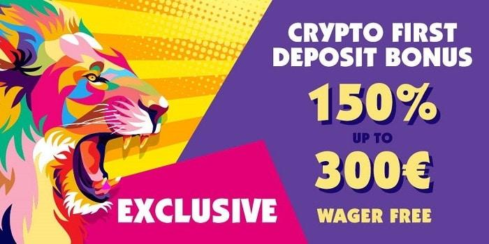 Haz Exclusive Bonus and 300 Free Spins