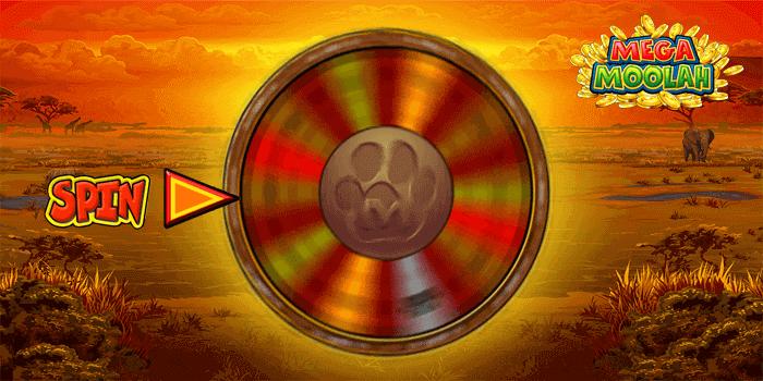 Mega Moolah Bonus Wheel
