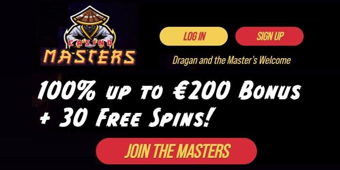100% up to 200 EUR Bonus + 300 Free Spins!