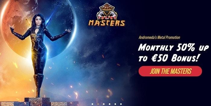 Masters Reload Bonus