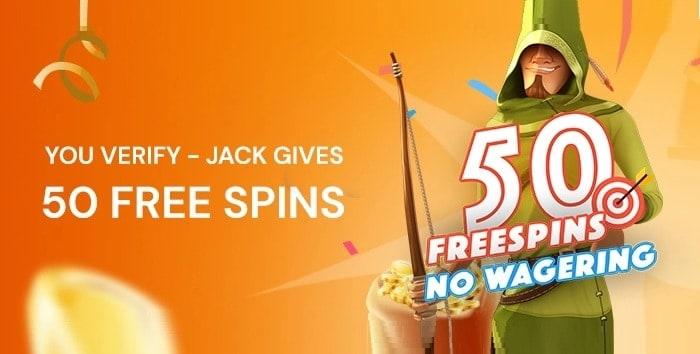 FortuneJack Free Bonus Code