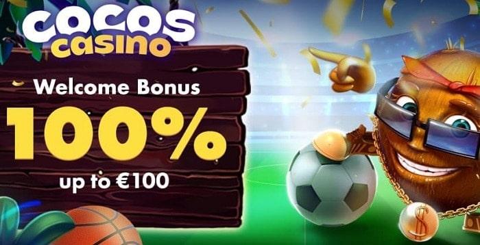 100% bonus on casino and sports