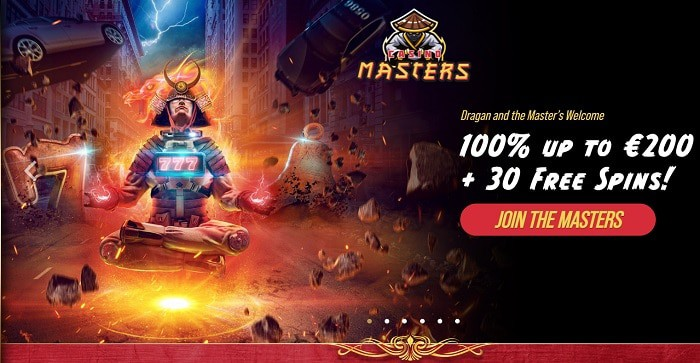 Welcome Bonus 100% up to 200 USD and 30 gratis spins!