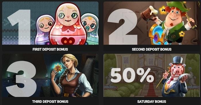 Bonuses, Promotions, VIP Rewards