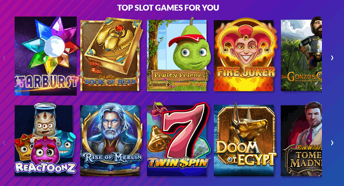 Top Slot Games For You