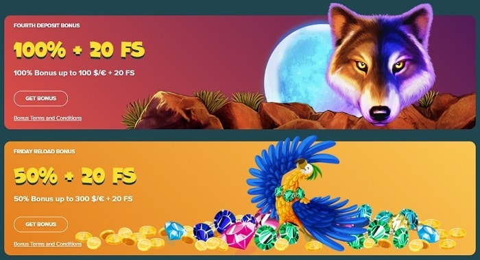 20 free spins for new players