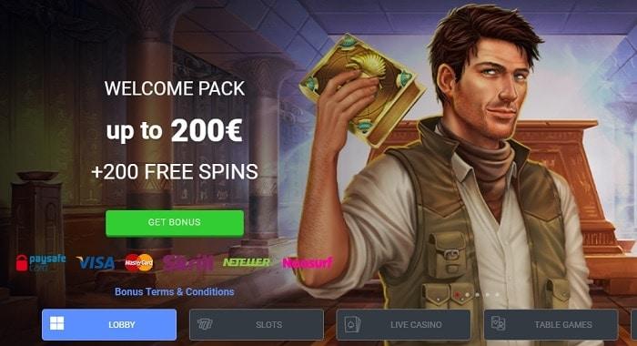 Receive free spins and bonus money!