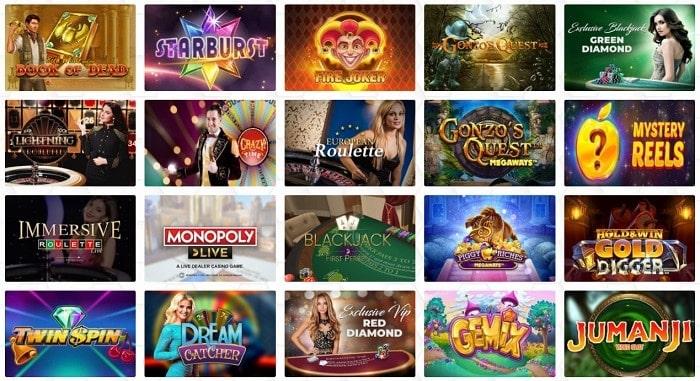 Casino Dome Games