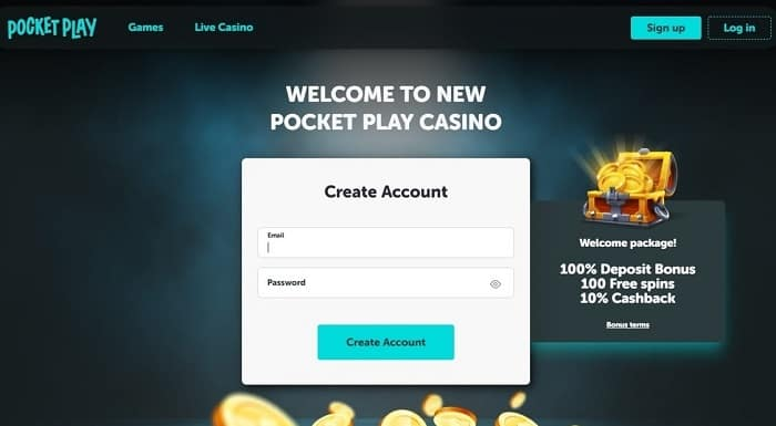 Create Gaming Account Now