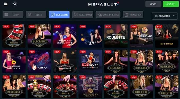 Mega Live Casino
