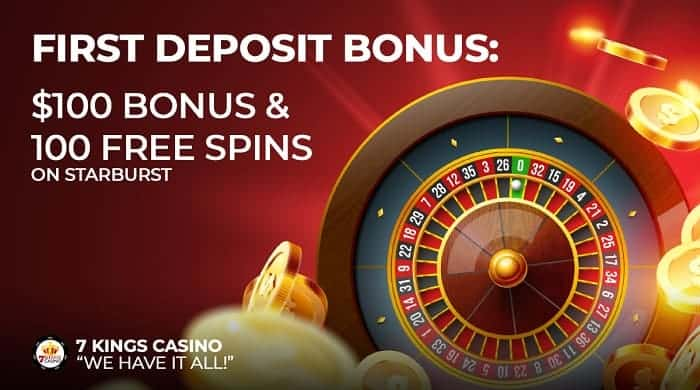 7Kings 100 free spins