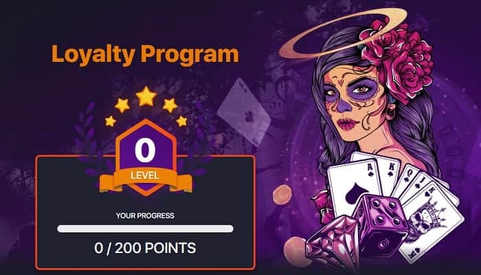 Praise Casino Loyalty Program and VIP Bonuses