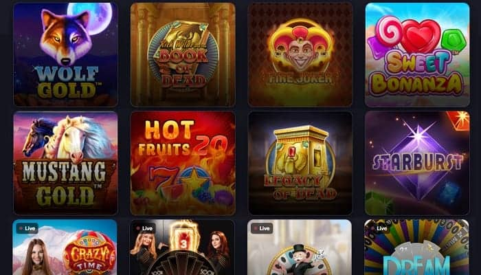 Praise Casino Games and Software