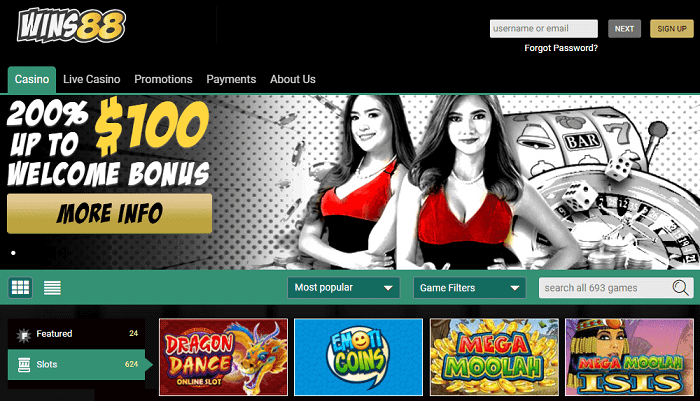Collect 200% Welcome Bonus