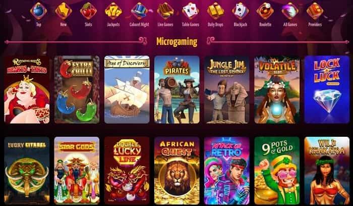 Winota.com Microgaming Casino