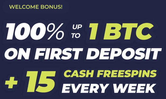 Welcome Bonus!