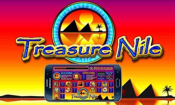 Treasure Nile jackpot free spins bonus