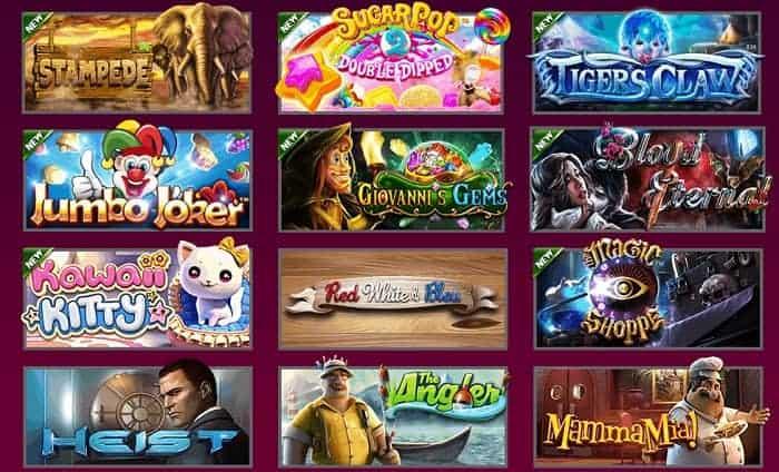 Hallmark slot machines