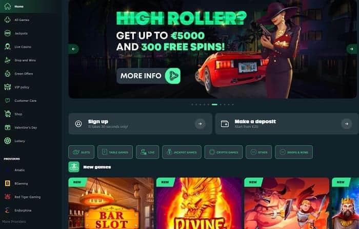 300 free spins bonus on first deposit