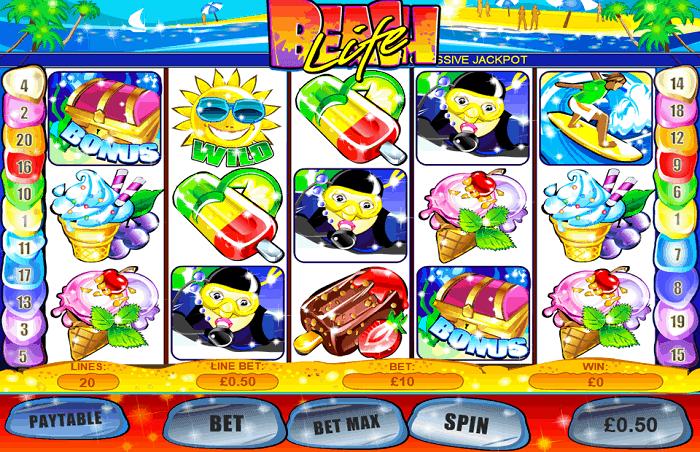 Beach Life slot winners