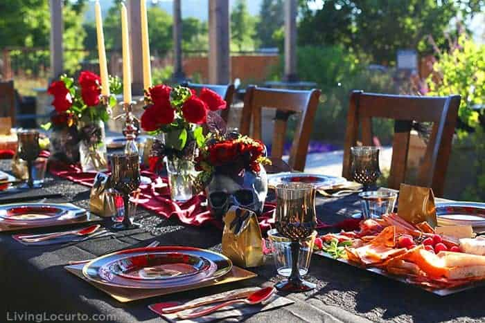 Fun Halloween Party Ideas for a Witch's Night Out! Inspiration for hosting an epic gothic Witch Halloween Party.