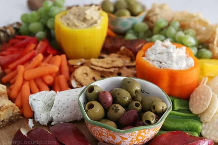 Charcuterie Board Ideas- Simple Fall party Party Recipe Living Locurto