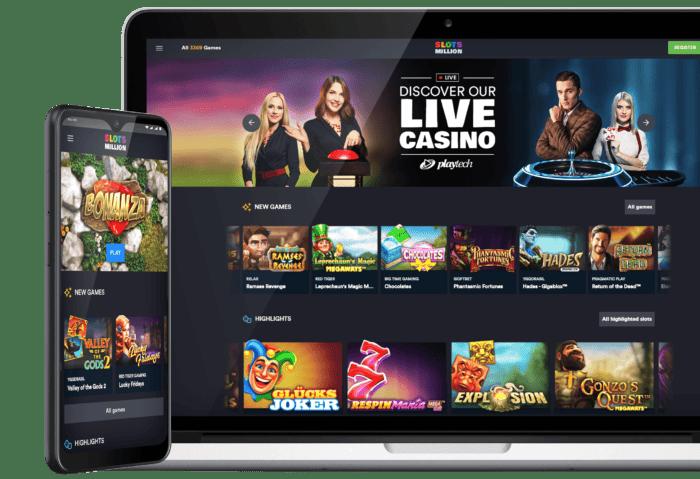 slot Million Casino Live Dealer