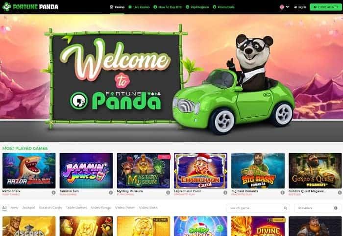 FortunePanda.com Free Bonus
