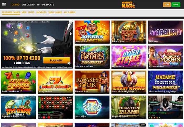 Winner's Magic free play