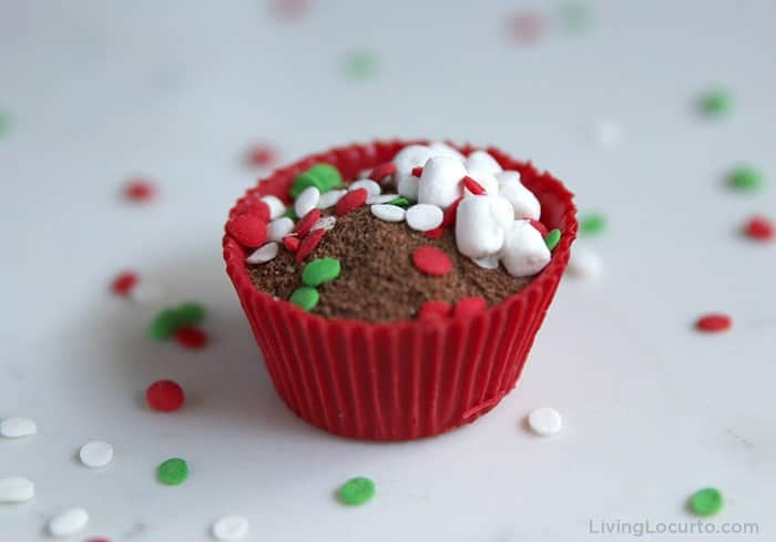 How to make Hot Chocolate Cocoa Bombs Recipe in a Muffin Pan